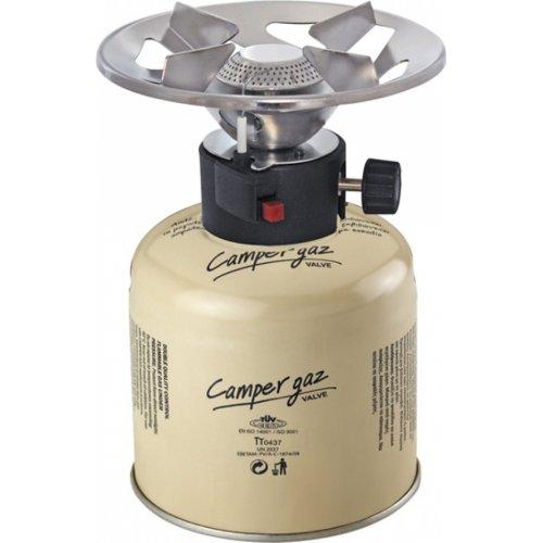 CAMPERGAZ 500 DELUXE PIEZO Καμινέτο Υγραερίου & Φιαλίδιο με Βαλβίδα Ασφαλείας 0001412
