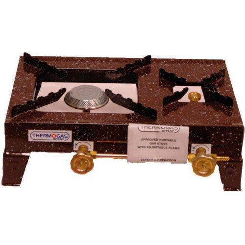 THERMOGAS EP115 Συσκευή Υγραερίου Ελαφρού Τύπου 2 Εστίες (1 Μεγάλη-1 Μικρή)