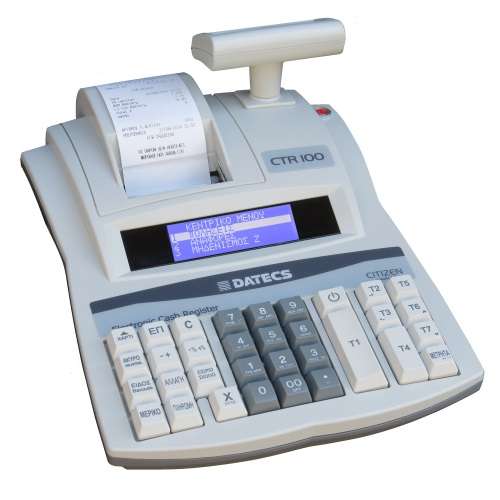 DATECS-CITIZEN CTR-100 Ταμειακή Μηχανή