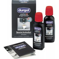 DURGOL DED18 Υγρό Καθαρισμού Αλάτων Μηχανών Espresso 2 x 125ml για Dolce Gusto & άλλες μηχανές espresso