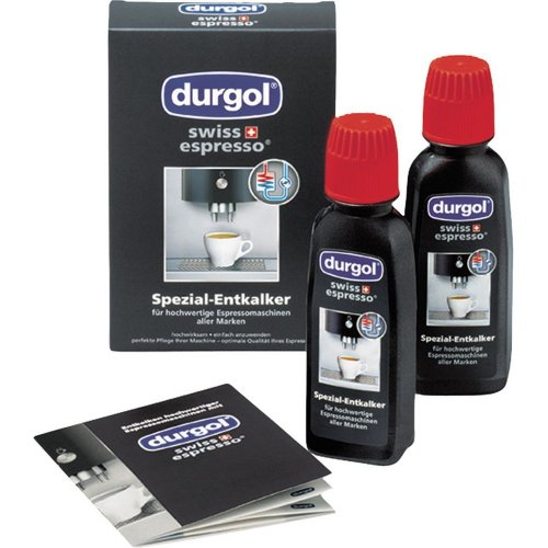 DURGOL DED18 Υγρό Καθαρισμού Αλάτων Μηχανών Espresso 2 x 125ml για Dolce Gusto & άλλες μηχανές espresso 0009064