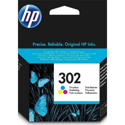 HP No302 F6U65AE Μελάνι Εκτυπωτή Colour
