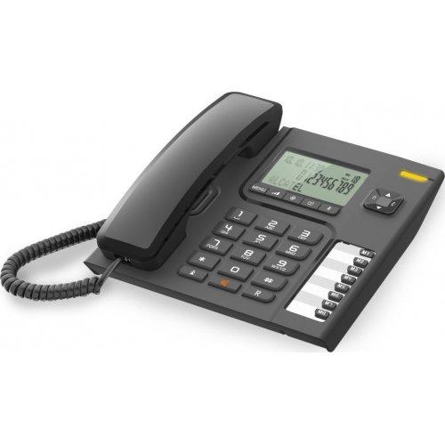 ALCATEL Temporis T76 Ενσύρματο Επιτραπέζιο Τηλέφωνο Μαύρο 0011025