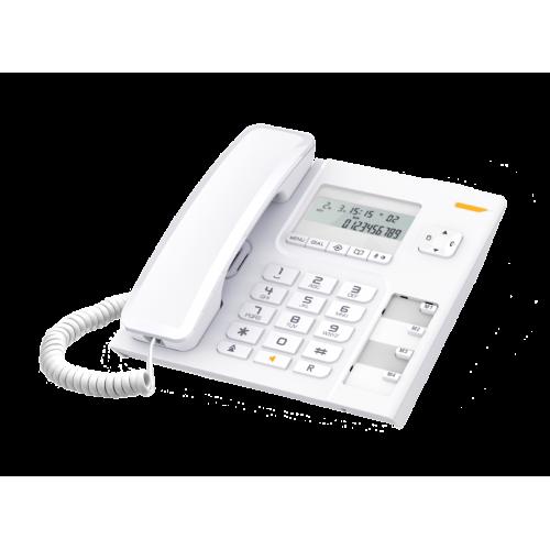 ALCATEL Temporis T56 Ενσύρματο Επιτραπέζιο Τηλέφωνο Λευκό