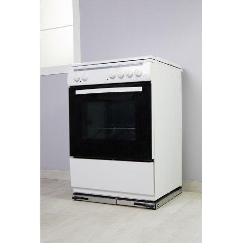 ROLLER Βάση Ψυγείου-Κουζίνας Τετράγωνη Inox 00683 (Ελληνικής Κατασκευής Α' Ποιότητας) 0013069