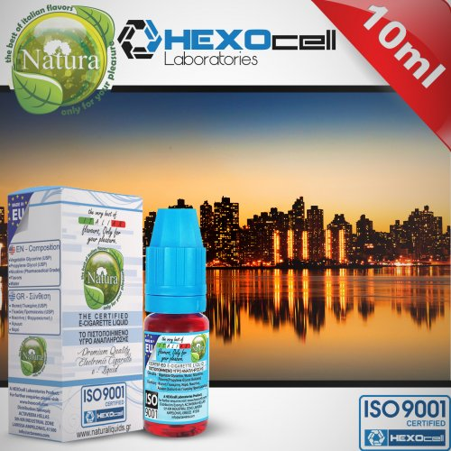 HEXOCELL E-Liquid Natura Manhattan 10ml-6mg 0013359