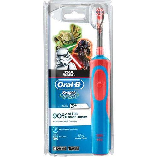 ORAL-B Kids Stage Power Star Wars 3+ Παιδική Οδοντόβουρτσα 0014060