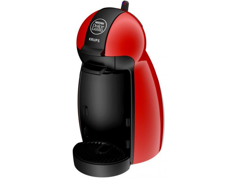 KRUPS KP100620S Dolce Gusto Piccolo Καφετιέρα Espresso Κόκκινη
