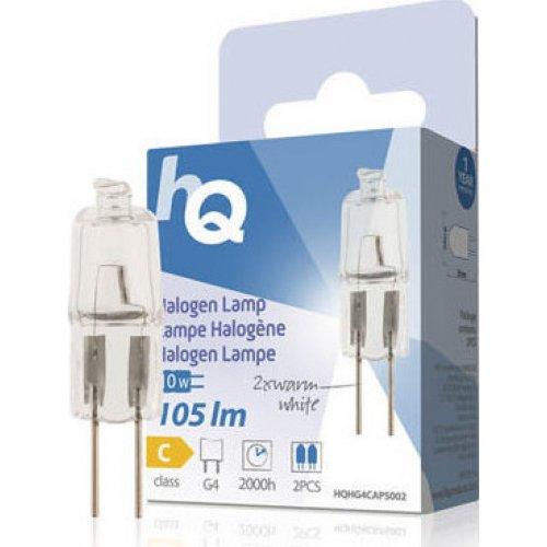 HQ LAMP HQH G4 CAPS Λαμπτήρας Αλογόνου - Κάψουλα, G4, 10W, με Χρωματισμό