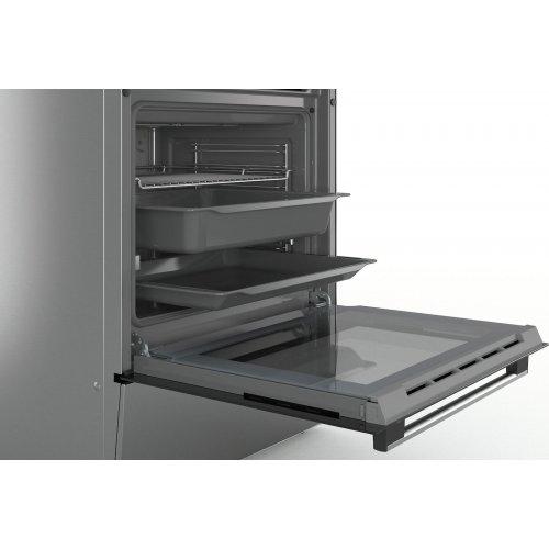 BOSCH HKR39B150 Ελέυθερη Κουζίνα 66lt - A - Inox - (Υ x Π x Β): 85 x 60 x 60 cm - 5 ETH ΕΓΓΥΗΣΗ 0016143