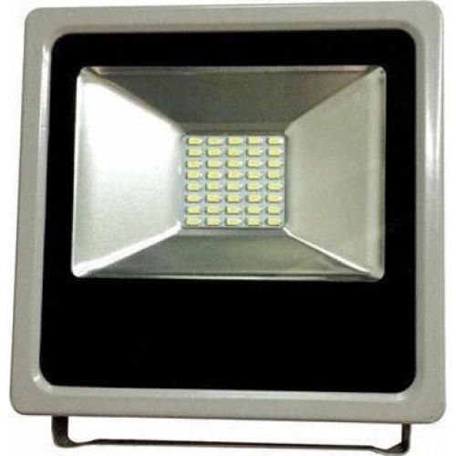 EUROLAMP 147-69403 Προβολέας Μαύρος LED SMD PLUS 10W IP65 6500K 0016768