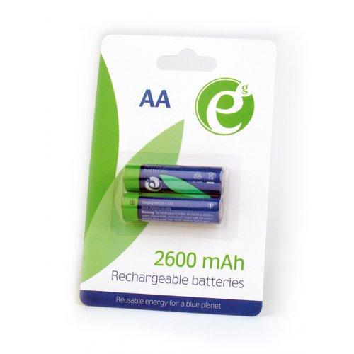 ENERGENIE EG-BA-AA26-01 NI-MH Επαναφορτιζόμενς Μπαταρίες  AA (2 τεμ)