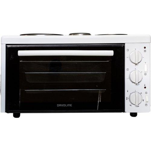 DAVOLINE EC 450 Chef Φουρνάκι με 3 Εστίες 28 lt - 1500 W