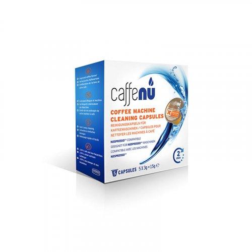 CAFFENU CFCC005 Κάψουλες Καθαρισμού για Καφετιέρες Nespresso 5τεμ 0017896