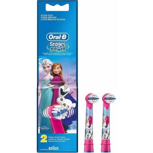 ORAL-B STAGES EB10K FROZEN Ανταλλακτικά Οδοντόβουρτσας 2 ΤΜΧ