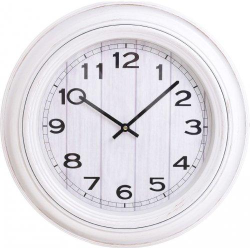 INART 3-20-385-0059 Ρολόι Τοίχου PL Λευκό Δ51χ5εκ.