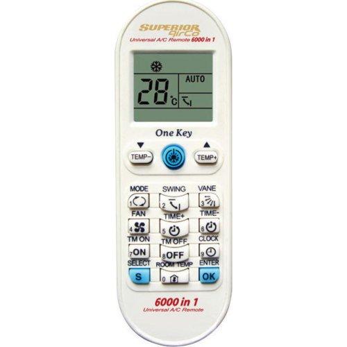 SUPERIOR AIRCO 6000 in 1 Universal τηλεχειριστήριο αντικατάστασης για air-conditions 0018119