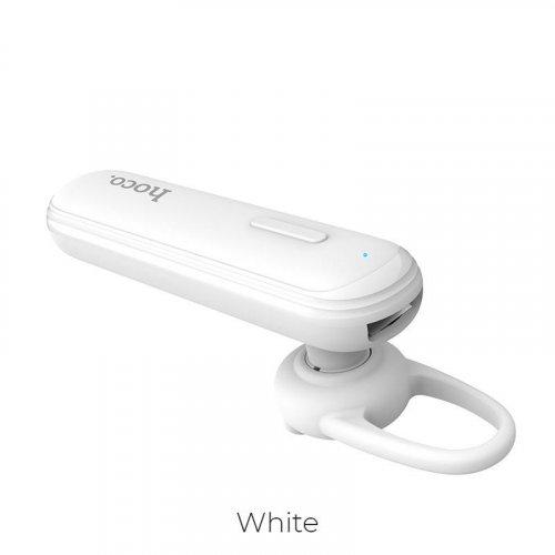 HOCO E36 Free Sound Business Bluetooth Earphone, White