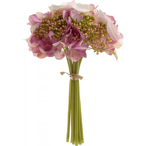 INART 3-85-505-0045 Λουλούδι/Μπουκέτο Ροζ/Λευκό 0018518