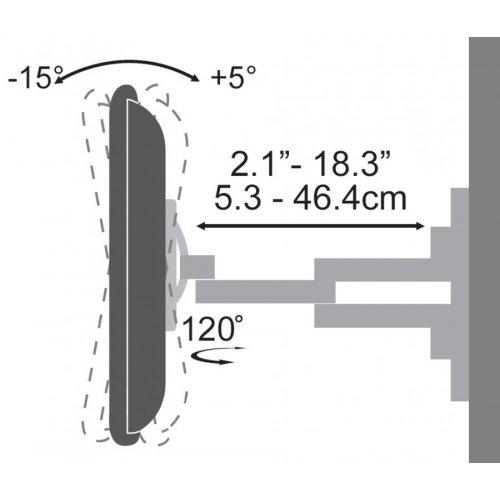 SBOX PLB-3646 Επιτοίχια Βάση Τοίχου WALL MOUNT 37