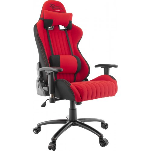 WHITE SHARK GAMING CHAIR RED DEVIL Καρέκλα Gaming Μαύρο - Κόκκινο