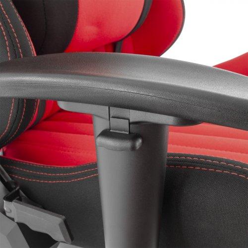 WHITE SHARK GAMING CHAIR RED DEVIL Καρέκλα Gaming Μαύρο - Κόκκινο 0018704