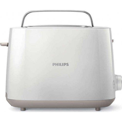 PHILIPS HD2581/00 Φρυγανιέρα 2 Θέσεων 830 W  Λευκή