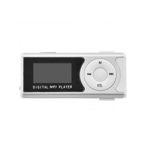 LAMTECH LAM020113 Digital MP3 Player 16GB With FM Radio Silver