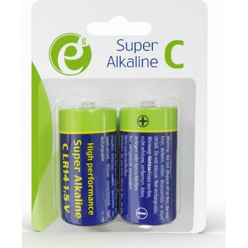 ENERGENIE EG-BA-LR14-01 Alkaline C-CELL Battery 2-Pack