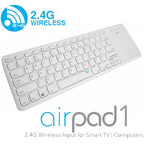 ALCATROZ AP1W Wireless Keyboard Aripad 1 White