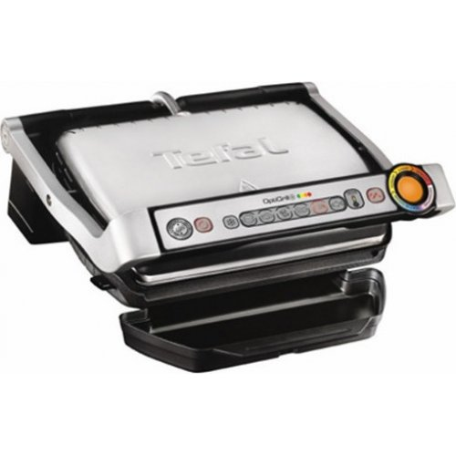 TEFAL GC712D Optigrill Γκριλιέρα 2000W  Silver