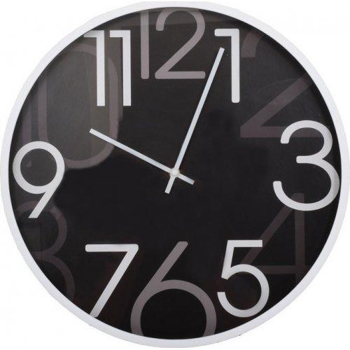 FYLLIANA 260-92-106 Ρολόι Τοίχου Μαύρο 40.6εκ 3003-1D 0019139