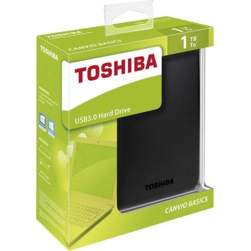 TOSHIBA HDTB410EK3AA External HDD Canvio Basics 1TB USB3.0 0019168