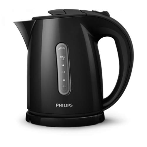PHILIPS HD4647/20 Βραστήρας Πλαστικός Μαύρος 1,5L - 2400W 0019173