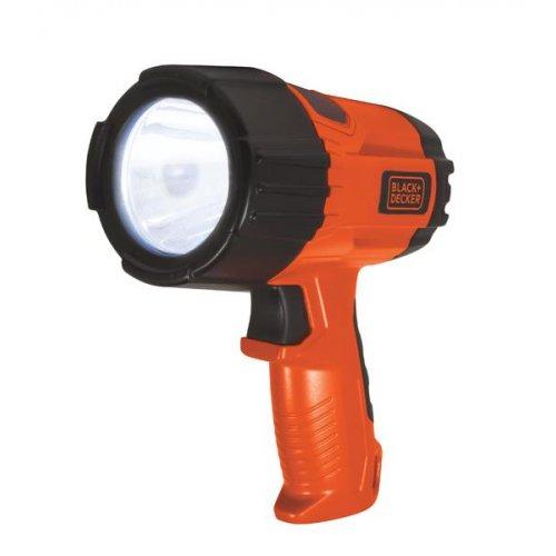 BLACK & DECKER Φακός Προβολέας LED - 3 Watt - 375 lumen Μαύρο/Πορτοκαλί