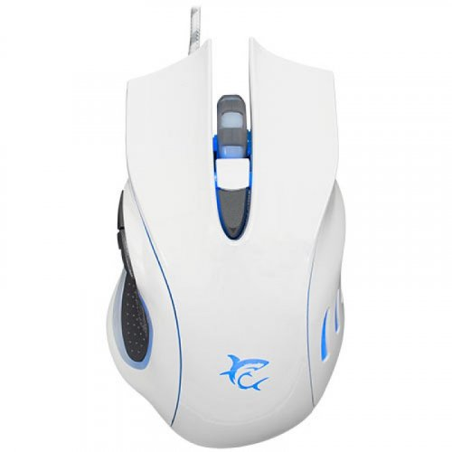 WHITE SHARK GM-1605 Gaming Mouse 4800DPI Hercules White