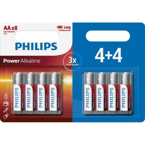 PHILIPS LR6P8BP/10 Μπαταρίες AA Σετ 8 LR6
