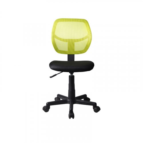 FYLLIANA 093-27-099 Καρέκλα Γραφείου Χωρίς Μπράτσα 5156Ρ Μαύρη/Λαχανί 41χ52χ80/92