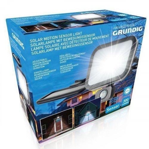 GRUNDIG 10967 SOLAR MOTION Φως 300LMN >12mtr - 6V-1W, batt 10967 0019254