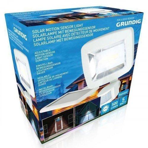 GRUNDIG 10976 SOLAR MOTION Φως  500LMN >12mtr -  6V-1W, batt 0019255