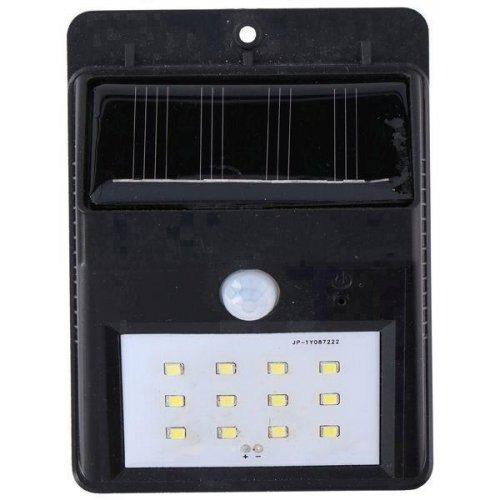 GRUNDIG 08470 Ηλιακό Φωτιστικό Τοίχου με Ανιχνευτή Κίνησης 12xSMD, 1xAA Ni-Mh 600mAh 0019259