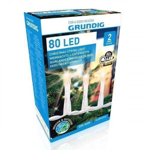 GRUNDIG XMAS Χριστουγεννιάτικα Λαμπάκια 80 LED 230V 0019273