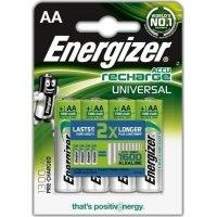 ENERGIZER AA-HR6/1300mAh Επαναφορτιζόμενη μπαταρία, σε blister 4 τμχ