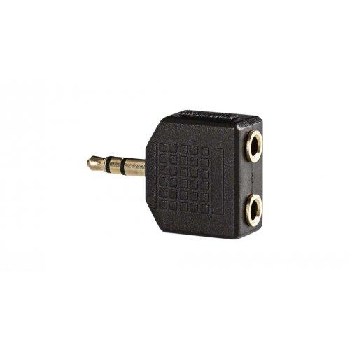 NEDIS CABW22945AT Αντάπτορας 3,5mm Stereo αρσ. - 2x 3,5mm Stereo θηλ. με Επίχρυσες Επαφές. 0019316