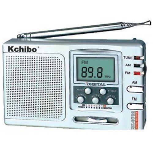 KCHIBO KK-9702 Φορητό Ψηφιακό Ραδιόφωνο FM / ΑM / MW / SW, με Μπαταρίες και Τροφοδοσία Ρεύματος