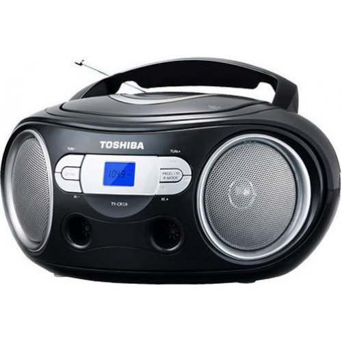 TOSHIBA TY-CRS9-BLK Audio Portable CD Boombox Black 0019594