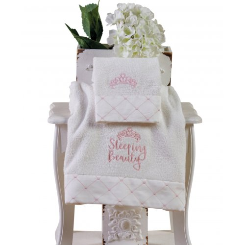 KENTIA Beauty Σετ 2 Πετσέτες Προσώπου & Σώματος