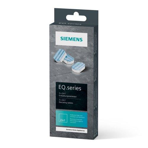 SIEMENS TZ80002N Ταμπλέτες Αφαλάτωσης για Αυτόματες Μηχανές Espresso 3τεμ