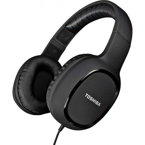 TOSHIBA RZE-D160H-BLK Audio Wired Over Ear Headphones Black 0020738