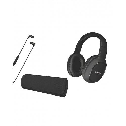 TOSHIBA HSP-3P19K Audio Wireless 3 in 1 Combo Pack Black
